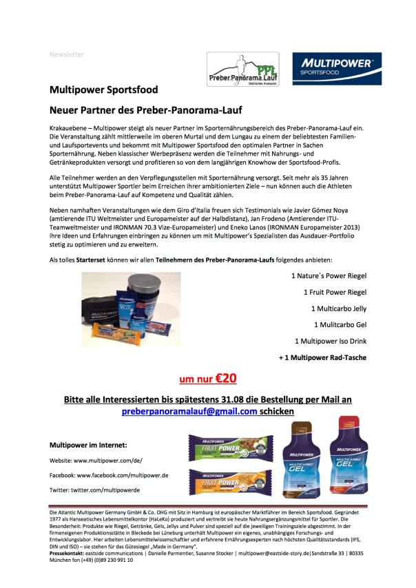 Newsletter Multipower Sportsfood Kopie